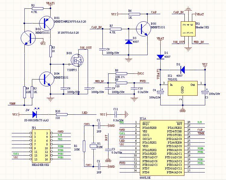 摩托车发动机电路接线图